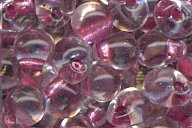 DPF-36 Sparkle Rose Lined Crystal